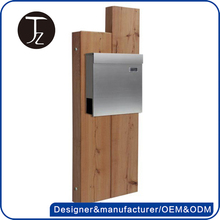 China factory customized metal cheap standing mailbox