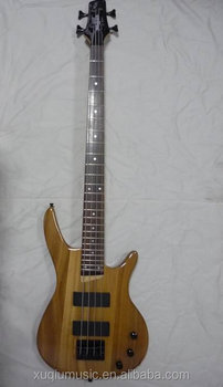 cheap natural color electric bass guitar bass guitar for sale buy natural wood bass guitar. Black Bedroom Furniture Sets. Home Design Ideas