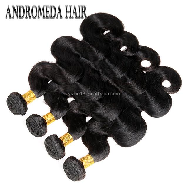 Natural virgin hair raw peruvian ladies human hair no tangle no shedding shiny healthy hair