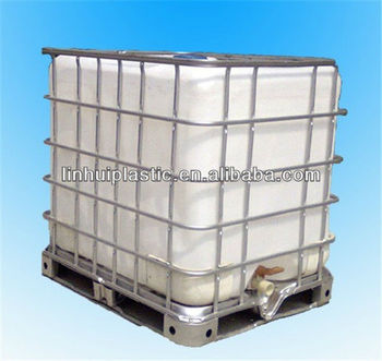 1000l Square Plastic Water Tanks With Frame Buy Chemical Tanks In Steel Cage 1000l Square Plastic Water Tanks Intermediate Bulk Container Product On Alibaba Com