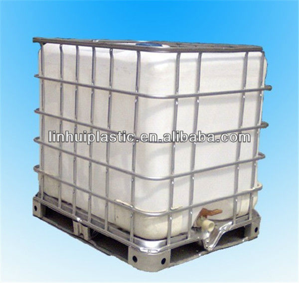 1000l Square Plastic Water Tanks With Frame - Buy Chemical Tanks In Steel  Cage,1000l Square Plastic Water Tanks,Intermediate Bulk Container Product  on
