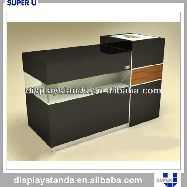 Wood Cash And Glass Cash Counter Shop Counter Table Design Buy