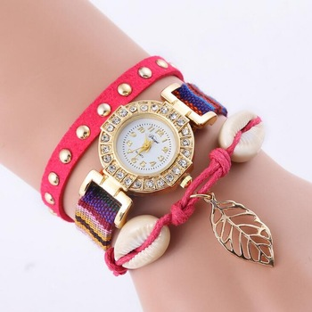 leather strap item wrist ladies luxury waterproof quartz m womens brand casual beauty fancy watch fashion women watches