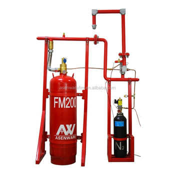 Automatically Fire Fighting Equipment Fm200,With Online Technical Design  And Fm 200 Installation Guide - Buy Fm 200 Installation,Fm200 Fire