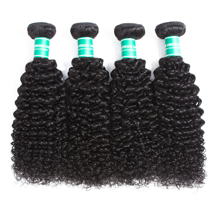 Eli Wholesale Factory Price Good Quality Virgin Mongolian Kinky Curly Hair,100 Human Hair Weave,Hair Products For Black Women