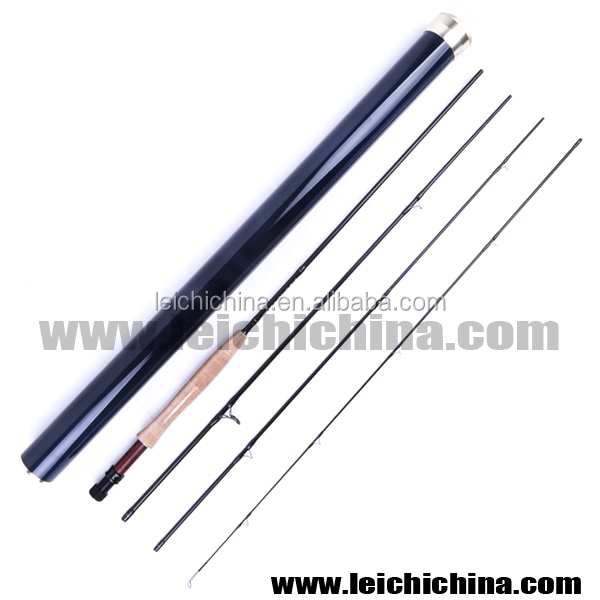customized high end IM12 Nano carbon blank fly fishing rods