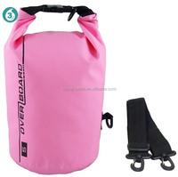 Custom logo ocean pack 500D PVC mesh,100% waterproof dry bag survival pack outdoor bag 10L