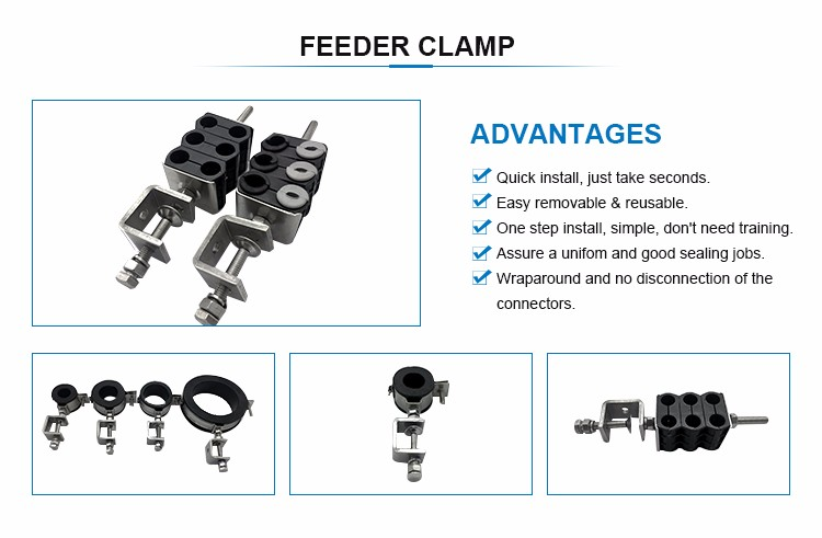 Feeder Cable Clamp For Base Station
