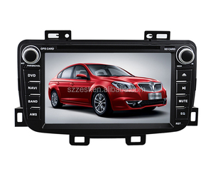 Android 4.4.4 Car DVD radio with Quad-core steering wheel control GPS 3G Wifi mirror link OBD TPMS for Brilliance H330 2013