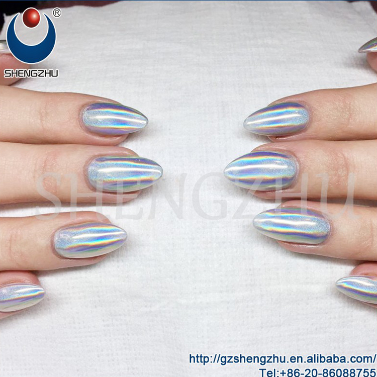 New 20micron Holo Powder Nails,Spectraflair Holographic Pigment ...