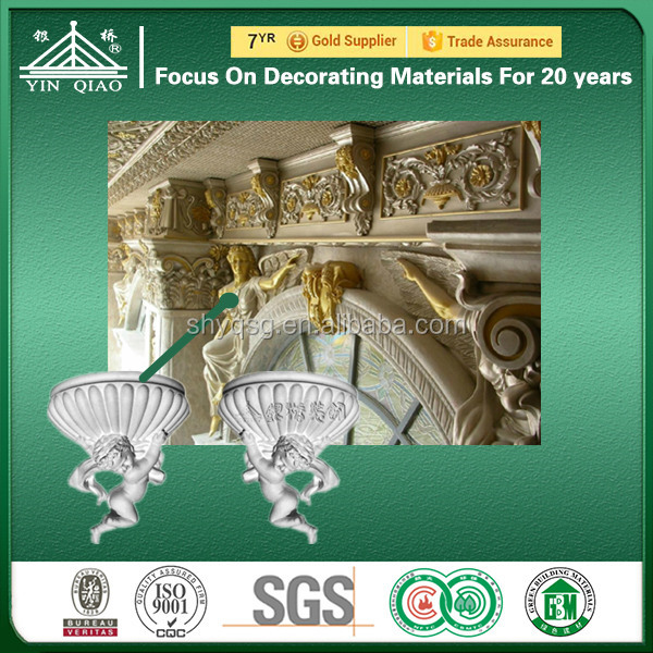 Chinese Gypsum Factories YinQiao Of Gypsum Cornice Designs Of Decorative Beading