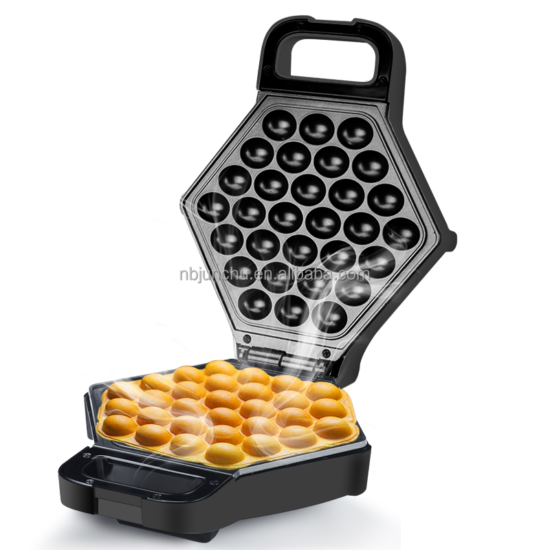 2017 New Hong Kong Uovo Bubble Waffle Maker in 5 Minuti