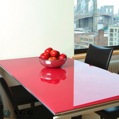 High quality Painted Tempered Glass Tops Prices