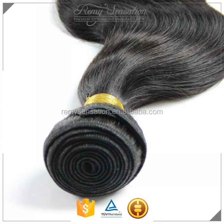 Virgin Human Hair Weave Bundles Unprocessed Malaysian Straight Body Wave Remy Hair Extensions