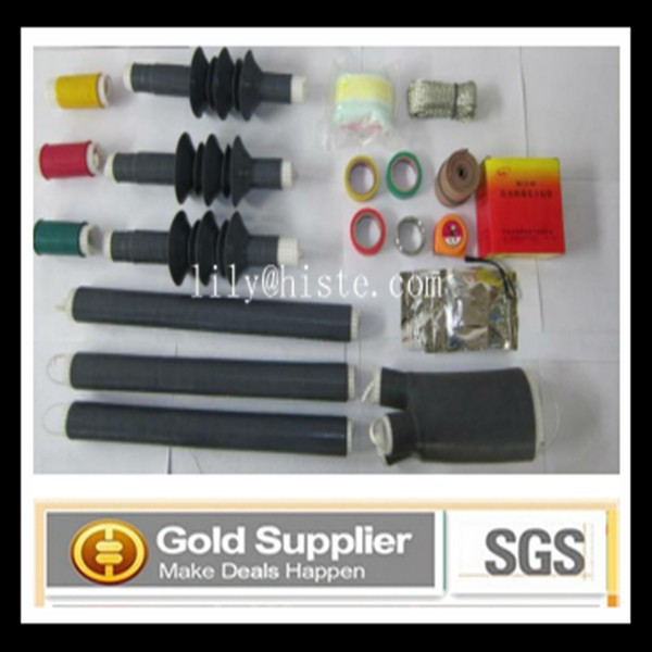 35KV Cold Shrinkable Cable Terminal termination kit/middle joint
