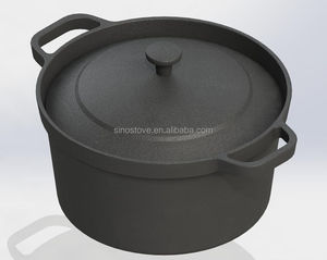 Japanese pre-seasoned cast iron cookware