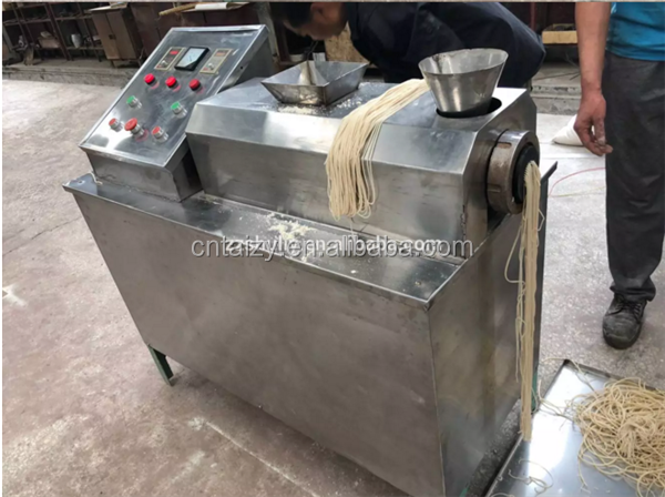 Colorful hollow pasta machine Hollow noodles making machine Noodles extruder machine