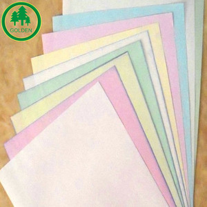 Low price 50gsm 55gsm 60gsm autocopy Carbonless paper NCR paper in sheet roll
