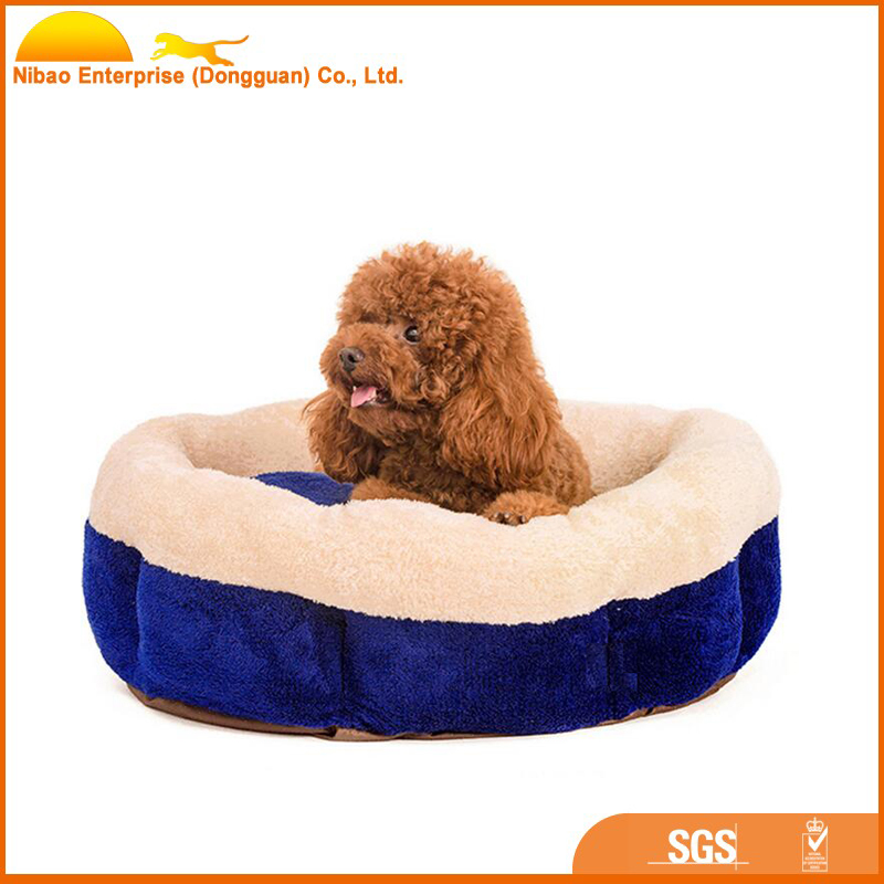 wholesale cheap round elegant dog bed for pet product