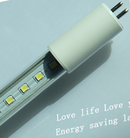 high lumen dc12-24v T5 led tube G5 , direct replacement for old fluorescent tube light