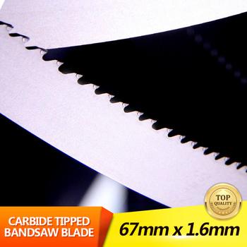 Tungsten Carbide Bandsaw Blade Metal Cutting Blade Carbide Tipped