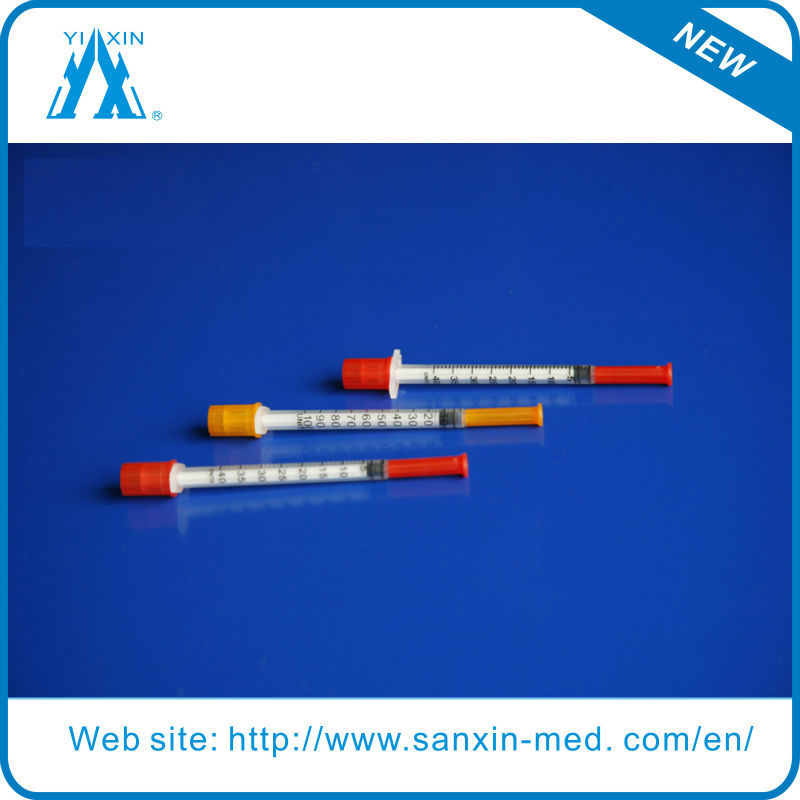 1cc 30G Disposable Insulin Syringe