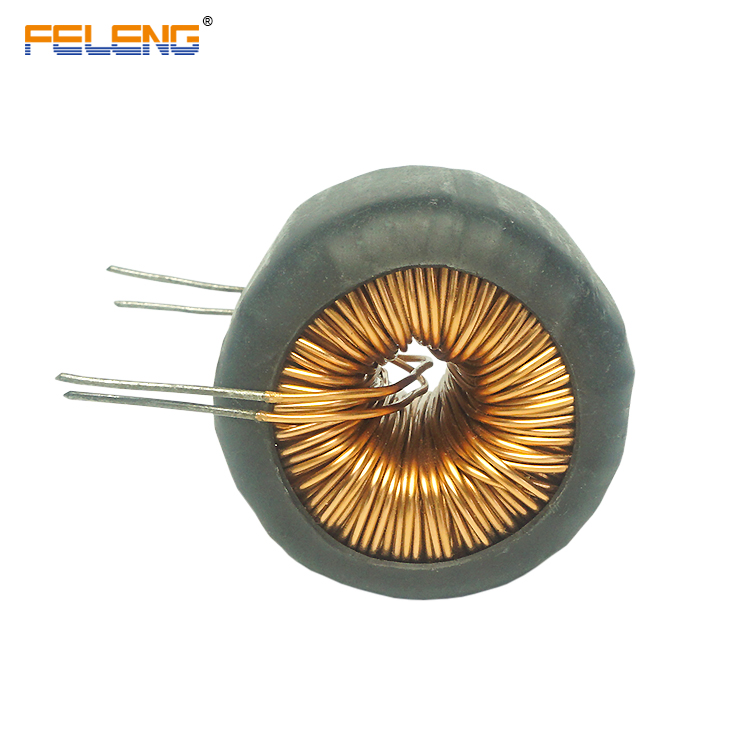 Toroidal power choke iron core inductor coil customized