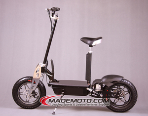 48V 1000W Foldable 2 wheel E-scooter/electric zappy stand up scooter with light CE certification