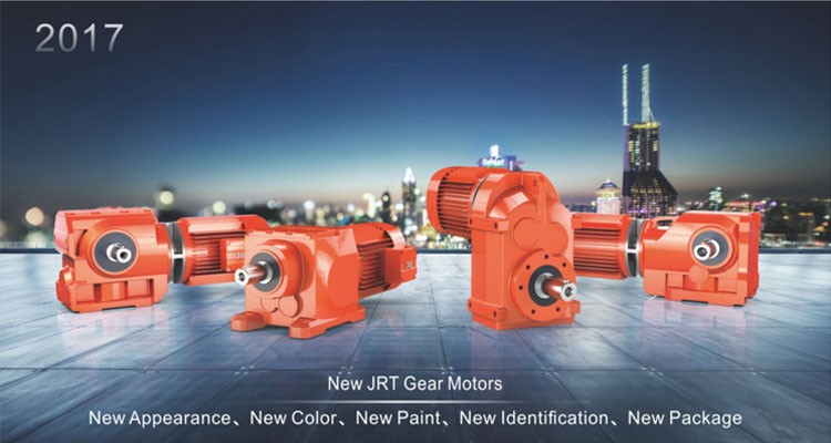 JRTR series helical gearmotor