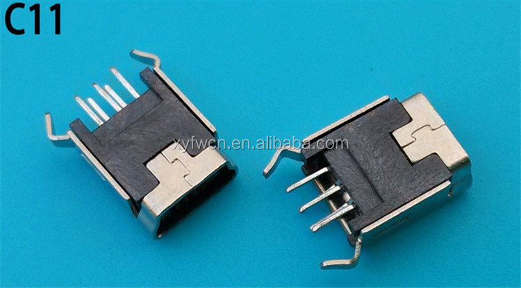 Hot Sell Micro Usb Female Connector 5 Pin Mini Usb Connector - Buy ...