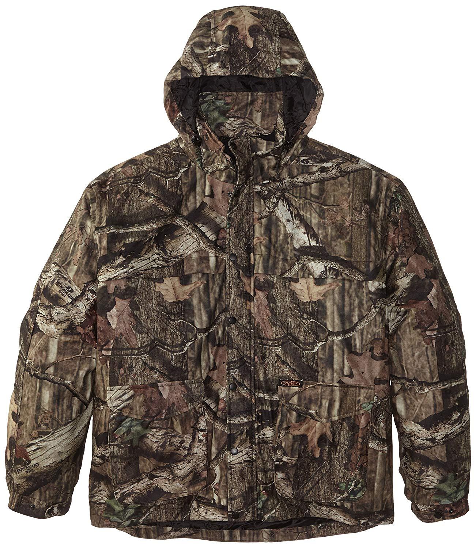 29d1aa9b80112 Get Quotations · Yukon Gear Men's Mossy Oak 3N1 Insulated Parka Jacket