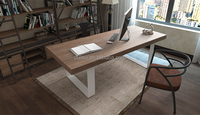 French country style high quality handcrafted solid wooden dining table wholesale