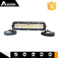 Factory Arced Led Light Bar Led Light Bar 20pcs*1.5W 7 inch Arced Camber Offroad Led