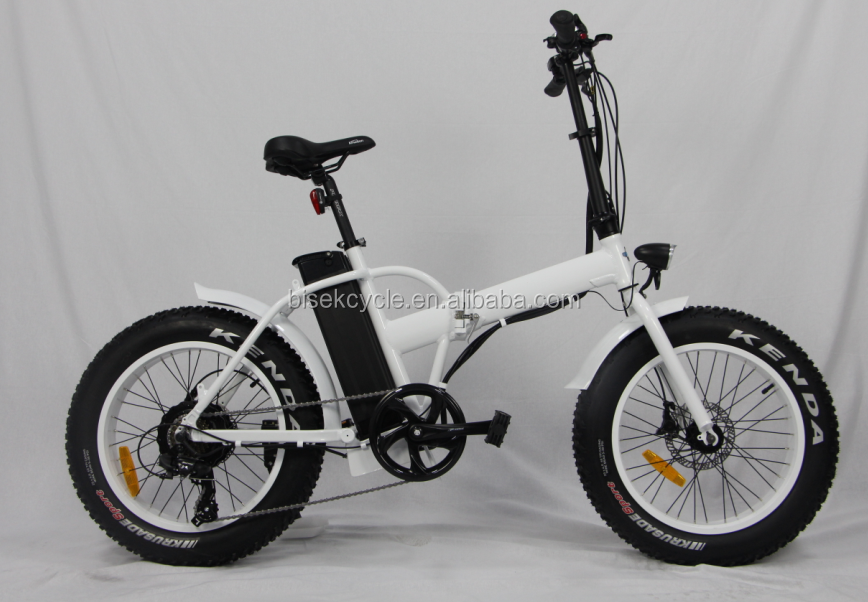 Strong electric bicycle small folding electric bicycle fat tire e bike with 250w motor