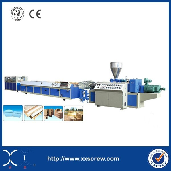 Turkey Profile Plastic Extrusion Machine and Extruder