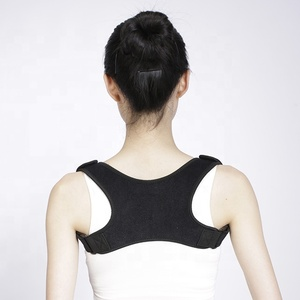 Neoprene Magnetic Black Posture Back Corrector Support Belt/Orthopedic Brace Back Posture/Magnetic Posture Correction Belt