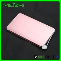 2016 Cell phone backup battery card power bank 4000mah