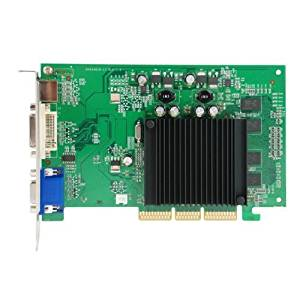 New Tangca DDR2 256MB AGP Video Card (for Windows 8/7/vista/XP/2000/98/ME/95)GPU 6200 LE 256 MB DDR2 AGP 4X 8X VGA/DVI/S-Video AGP Graphics Card + Tangca Silicone Bracelet