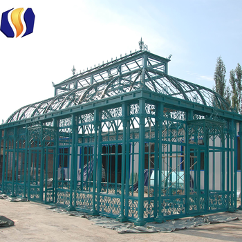steel garden used greenhouses for sale