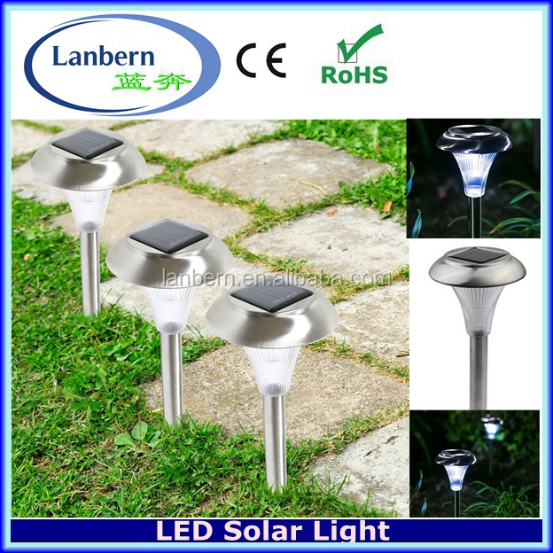 2016 Yard Pathway Patio decorations Stainless Steel Outdoor LED Bollard Light JD-112A