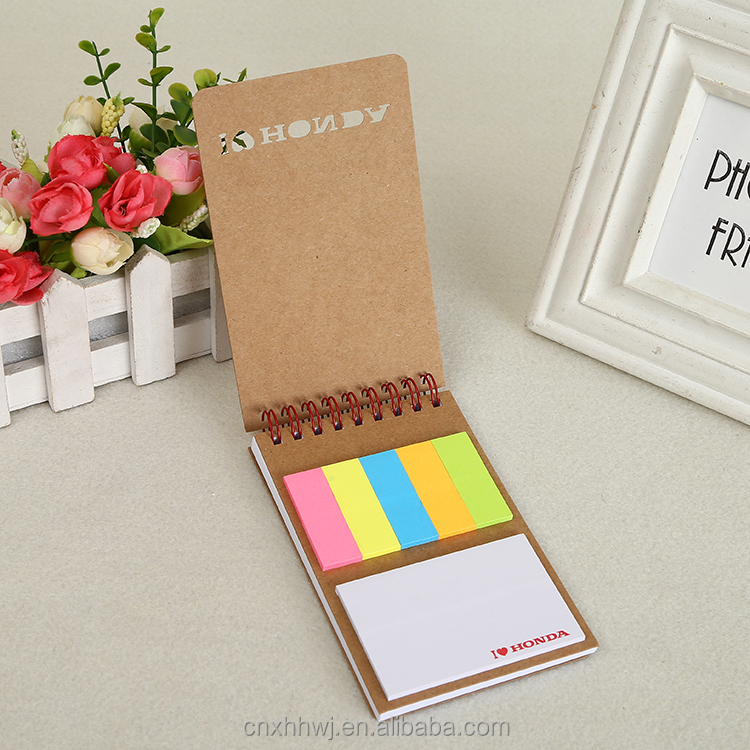 High Quality Recycled Notepad,Die Cut Notebook,Spiral Hardcover Notebook with pen