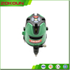 Top Level Three-proofing Product, Model No ZK5G3F, Green Beam 5 Lines Laser Level for Construction