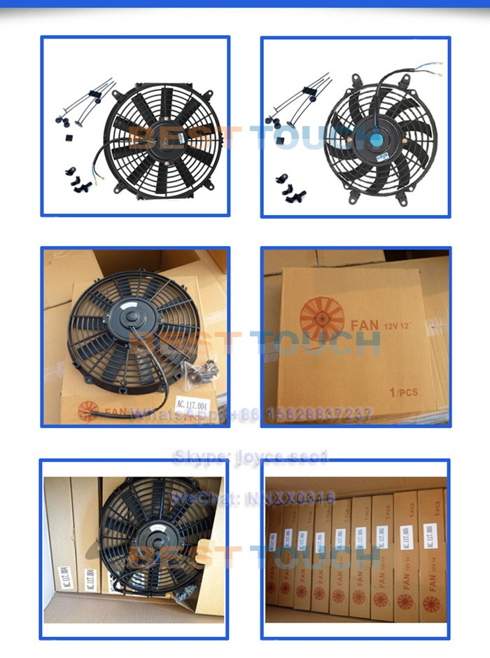 ROVER MINI COOPER 1275 GT MT 1973-1991 auto 24V electric cooling fan for AUSTIN