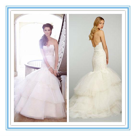Hot Sale Mermaid Lace Top German Wedding Dresswdjl 1018 Buy