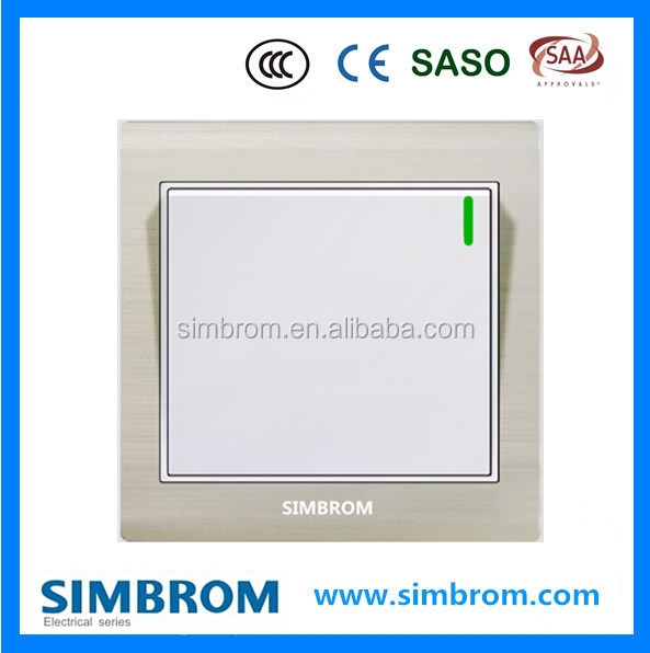 Best Products For Import 1 Gang 1 Way Electrical Wall Switch Famous Brand Cheap Prices