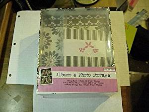 "Colorbok Albums & Photo Storage Containing 1 Brag Book which holds 36 4""x6"" Photos, 1 2-Up Photo Album which holds 200 4"" x6"" Photos and 1 storage box. by Colorbok"