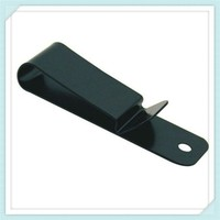 spring steel belt spring clip with black coating