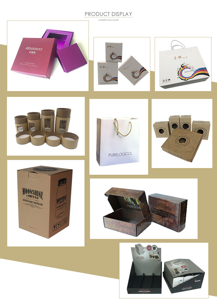 Hot Sale Pvc Window Show Your Product Clearer White Packaging Gift Box for Handicraft