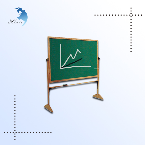 high quality professional green wood frame stand school chalkboard