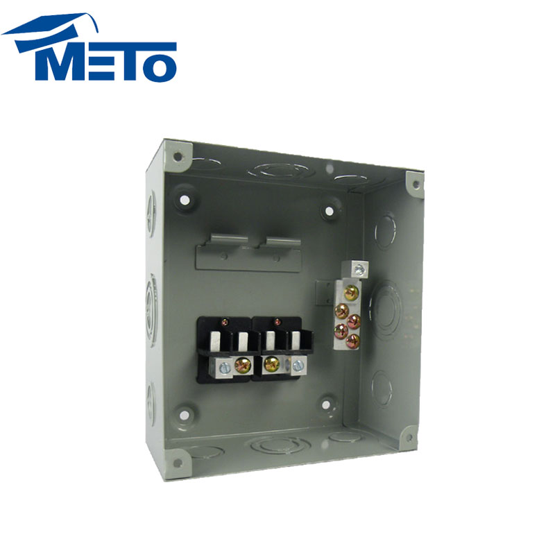 Superior economy single phase 4 way metal electrical mcb distribution box price